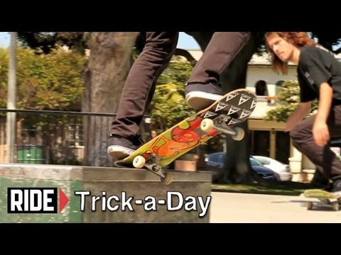 How-To Backside 180 Nosegrind With Matt Bennett - Trick-a-Day