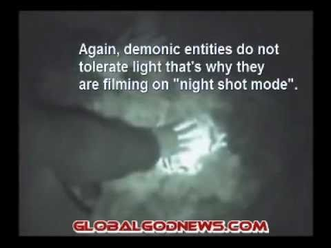 Real Demons Caught On Tape 2/3