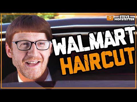 Comedian gets haircut in West Virginia Walmart