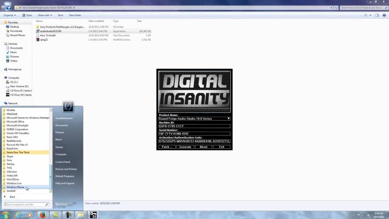 Crack Для Sound Forge Audio Studio 8.0 - znaniytutetnapro