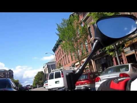 FZ8 in downtown Burlington Vermont