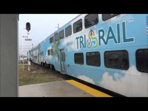 West palm beach Rail-fanning | Amtrak and Tri-rail