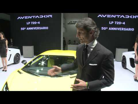 Stephan Winkelmann about the Lamborghini presence at Shanghai Auto Show 2013