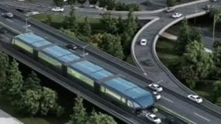 China's new bus design is simply mind-blowing