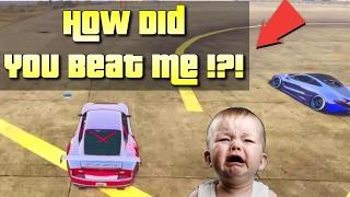 SPORTS CAR TROLLING WITH NITRO BOOST GLITCH PART 1! (GTA 5 FUNNY TROLLING ON PS4)