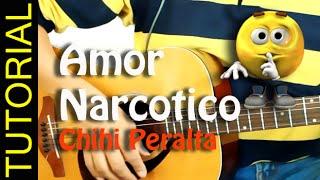 Como tocar AMOR NARCOTICO en Guitarra COVER