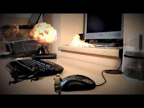 Desktop Warfare - After Effects Movie