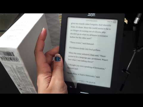 Kobo touch e-reader review