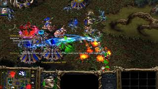 Warcraft 3 The Frozen Throne #22 Undead Campaign 5 - Dreadlord's Fall