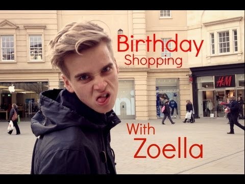 Birthday Shopping With Zoella | Vlog