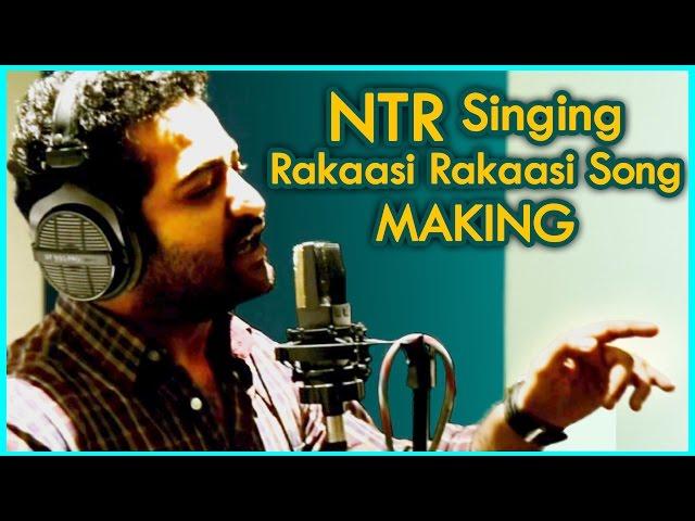 """Jr.NTR"" Rakasi Rakasi Song Making || Rabhasa Movie"