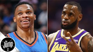 LeBron James, Russell Westbrook and Devin Booker over/unders for 2019-20 | The Jump