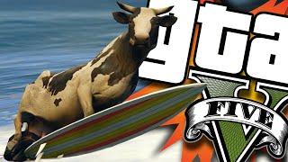 GTA V PC - Goku SSJ4, MOD Just Cause 3, Titanic Voador e Mais