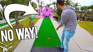 THIS MINI GOLF COURSE TRICKED US!