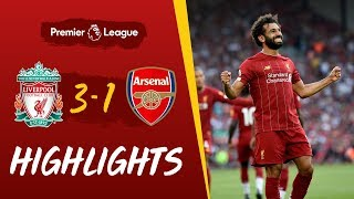 Highlights: Liverpool vs Arsenal   Salah at the double against the Gunners