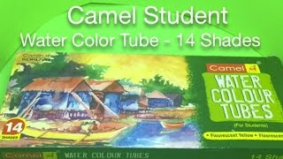 Camel Student Water Color Tube - 14 Shades