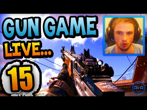 replacing Ghosts? - Gun Game Live W  Ali-a #15! - (call Of Duty: Ghost) video