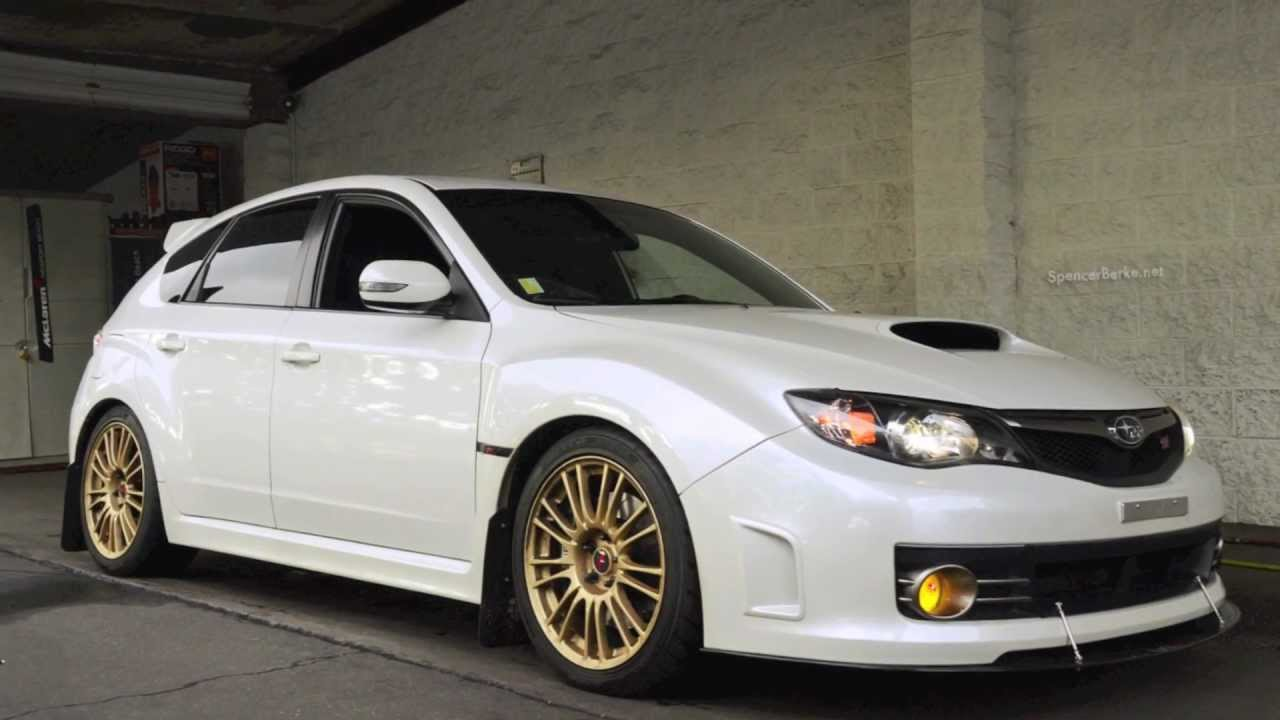 2012 Wrx Hatchback >> 2010 Subaru STi w/EL Headers, Catless Invidia Downpipe & Greddy Ti-C Exhaust. (Cobb Stage Two ...