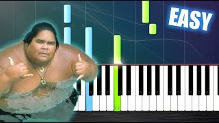 "Download Lagu Somewhere over the Rainbow - Israel ""IZ"" Kamakawiwoʻole - EASY Piano Tutorial by PlutaX Gratis STAFABAND"