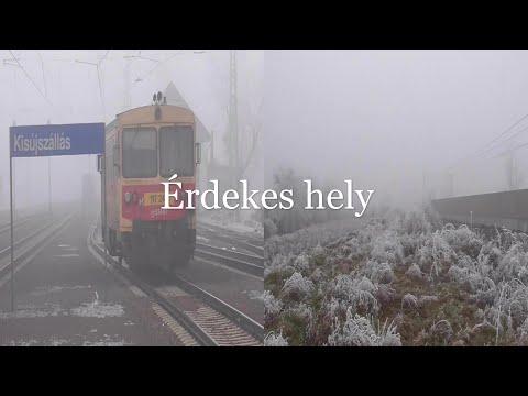 A tehervonatok és a HALOTT VASÚTVONALAK hazája. Kisújszállás és megtaláltuk a 927-es vasútvonalat.