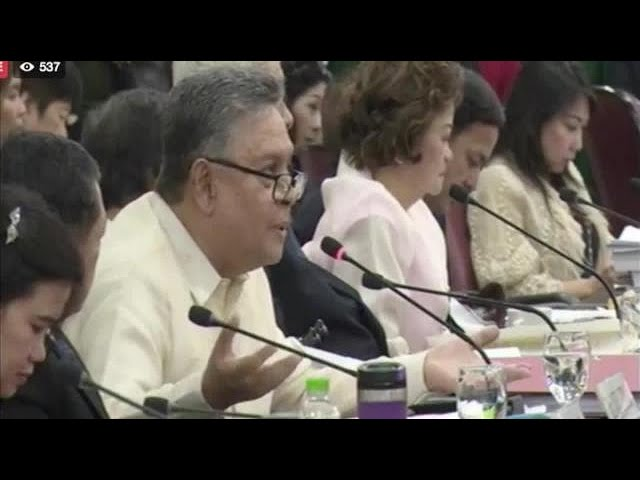 Tijam to Sereno: Attend impeach hearings, explain delay in benefits