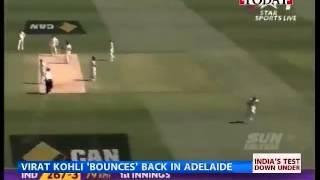Aus vs Ind: Skipper Virat Kohli slams ton