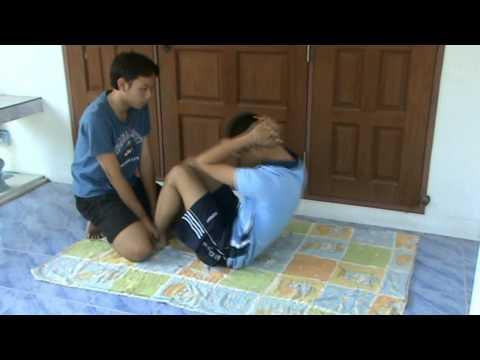 วิดีโอสอนการเล่นกล้ามหน้าท้อง(โครงการ)