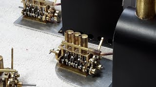 MAUDSLEY REVERSING GEAR ON MINIATURE STEAM ENGINE