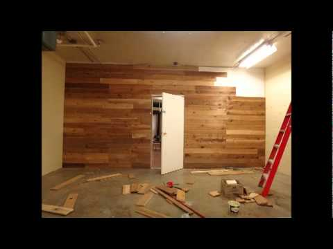 Girl Builds A Cedar Wall Youtube