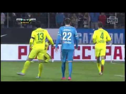 Зенит - Анжи 5:1, 13 тур Чемпионата России 2015/16. zenits.ru