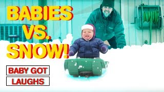 Babies vs. Snow | The Cutest Baby Compilation 2017