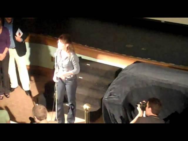 Sarah Palin Addresses Crowd After Movie Debut
