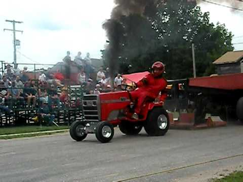 Diesel Lawn Tractor That Smokes Youtube