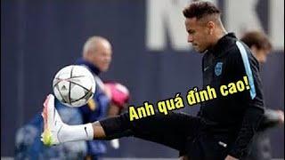 Khi Neymar LÀM TÌNH, LÀM TỘI đồng đội trên SÂN TẬP ► Kỹ thuật anh ấy quá BEST ⚽ Hài Bóng Đá ⚽