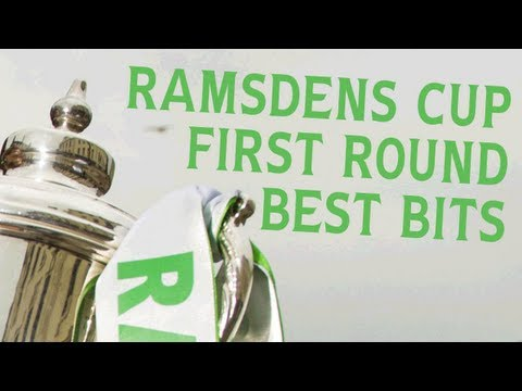 All the best bits from Round One of the Ramsdens Cup