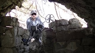 Abandoned Outlaw Hideout & Ghost Town Silver Metal Detecting