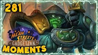 White Eyes To The Rescue!! | Hearthstone Gadgetzan Daily Moments Ep. 281 (Funny and Lucky Moments)