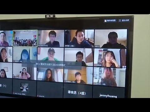 Teachers, students feel strain of long-distance learning in China