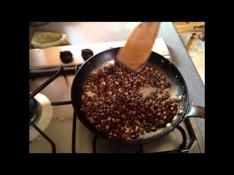 how to add flavor to green coffee beans