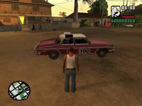 GTA San Andreas : Most used cheats on pc