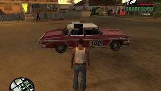 GTA San Andreas : Most used cheats on pc