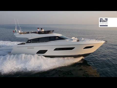 [ENG] FERRETTI 550 - Review - The Boat Show
