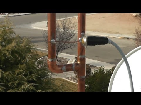 J-Pole Antenna Test & Demo (KB9VBR made this) [HD]
