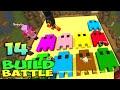 ч.14 Minecraft Build Battle - Приведение, Терминатор и Злая Печенька