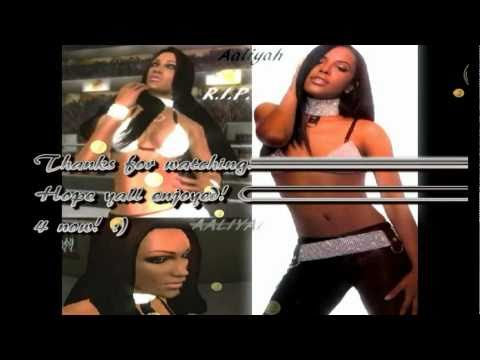WWE Smackdown Vs. Raw 2010 Aaliyah CAW music video! R.I.P.