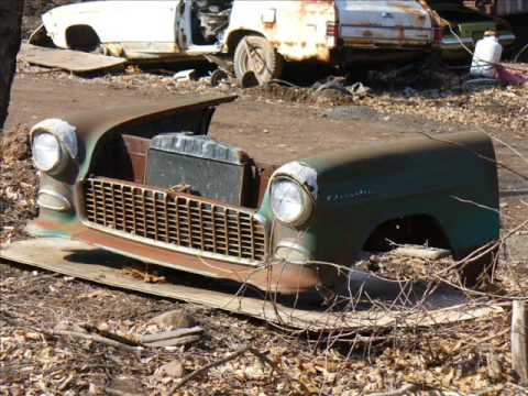 Old cars in junk yards #5