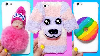 3 DIY PHONE CASES | Easy & Cute Stress Reliever Phone Projects & iPhone Hacks