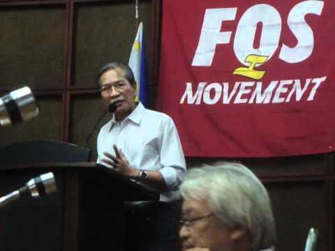 Satur Ocampo on the impact of FQS '70 on Philippine politics