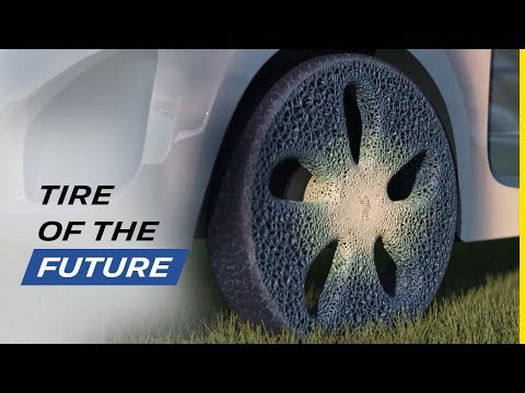 The Visionary MICHELIN Concept Tire