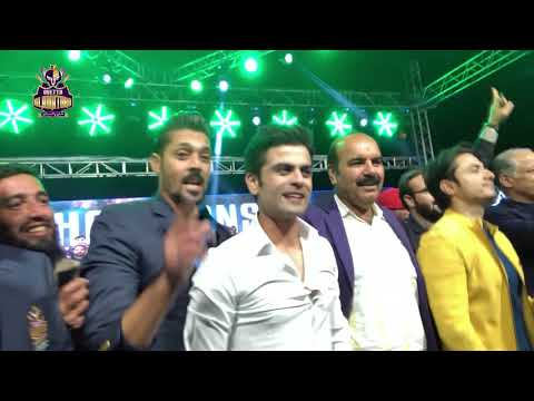 Quetta Gladiators celebrated PSL Trophy win with the people of Quetta | Balochistan thumbnail